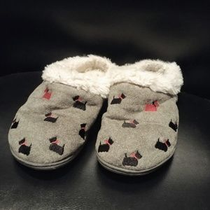 Scotty Dog Slippers 5-6